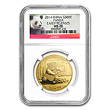 China Gold Panda Coins (NGC Certified)